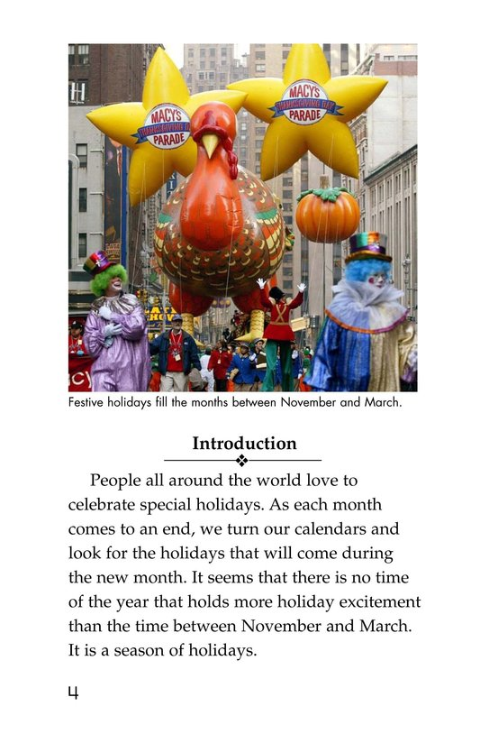 Book Preview For Holidays Around the World Page 4