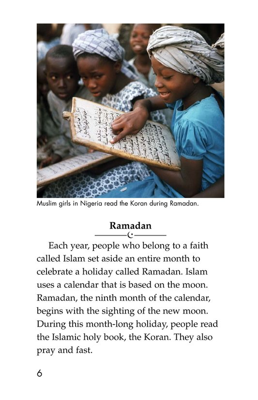 Book Preview For Holidays Around the World Page 6