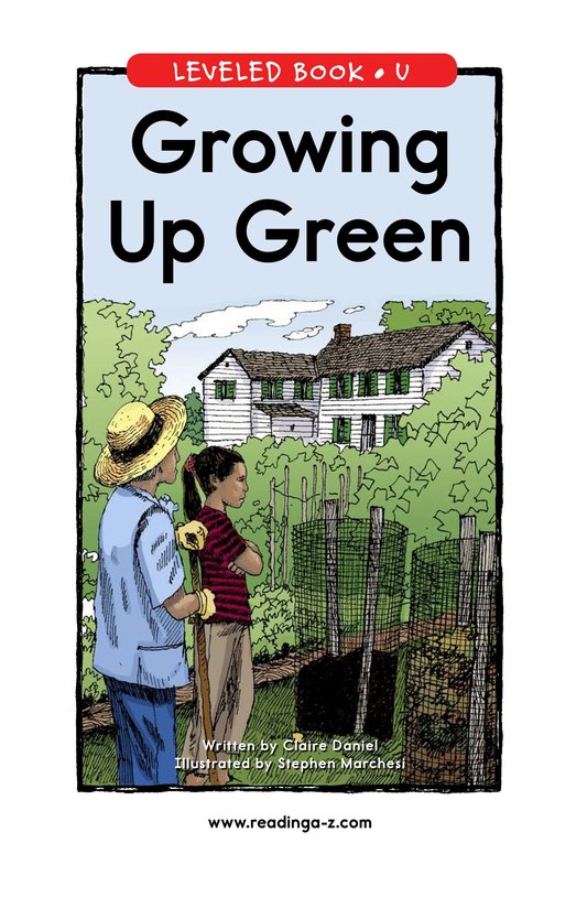 Book Preview For Growing Up Green Page 1