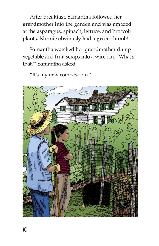 Book Preview For Growing Up Green Page 10
