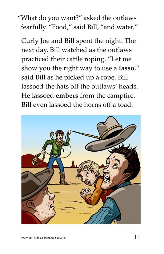 Book Preview For Pecos Bill Rides a Tornado Page 11