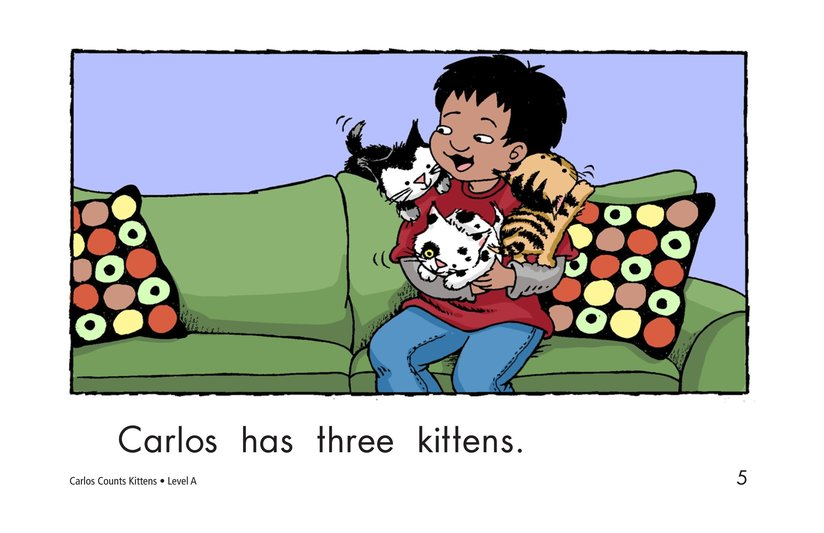 Book Preview For Carlos Counts Kittens Page 5