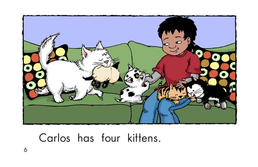 Book Preview For Carlos Counts Kittens Page 6
