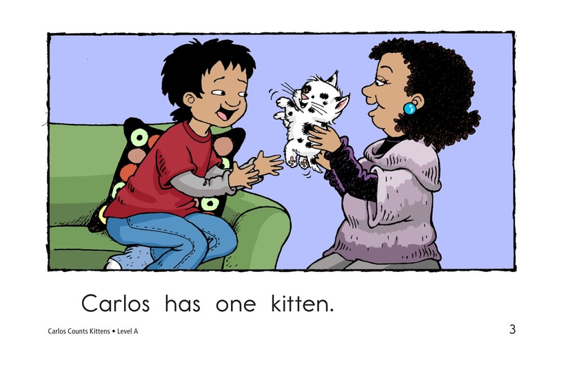 Book Preview For Carlos Counts Kittens Page 3
