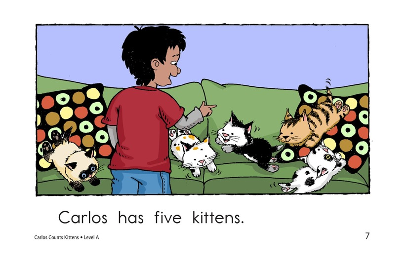 Book Preview For Carlos Counts Kittens Page 7