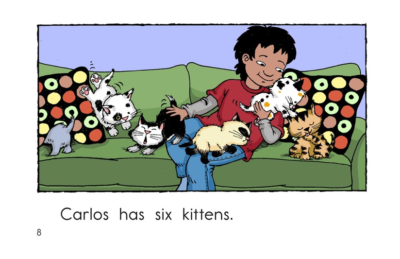 Book Preview For Carlos Counts Kittens Page 8