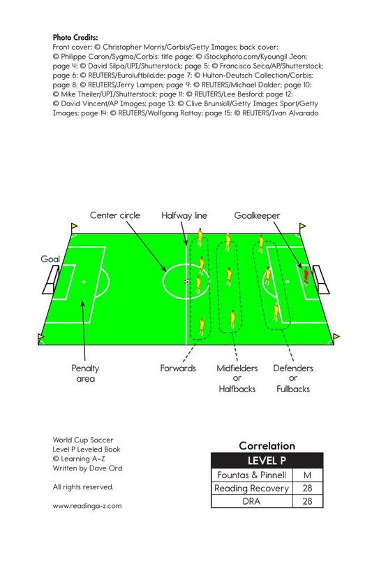 Book Preview For World Cup Soccer Page 2