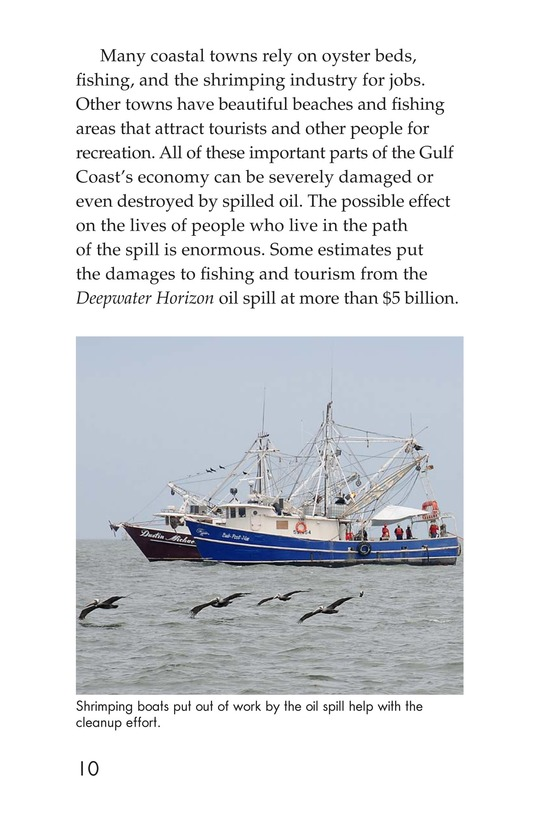 Book Preview For Deep Trouble: The Gulf Coast Oil Spill Page 10