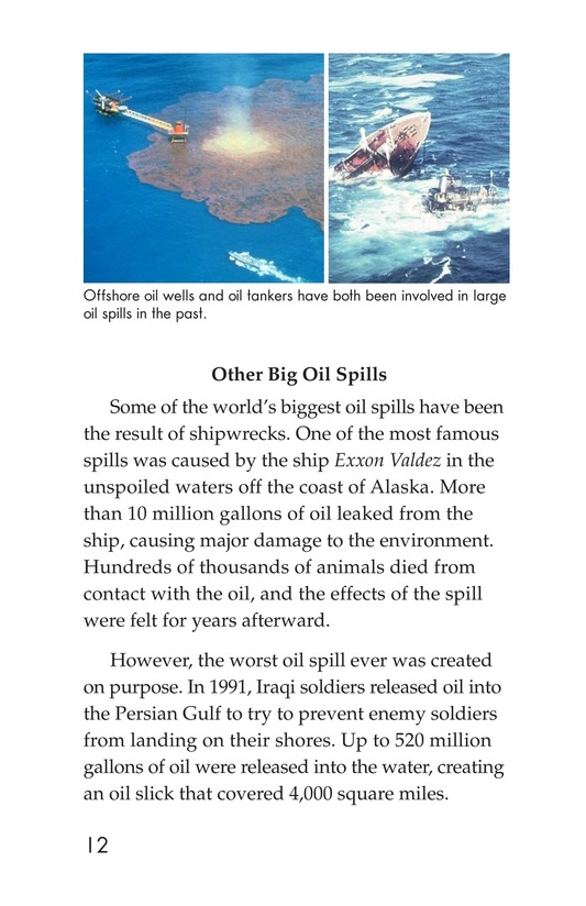 Book Preview For Deep Trouble: The Gulf Coast Oil Spill Page 12