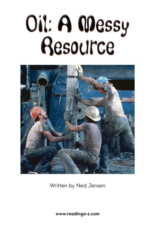 Book Preview For Oil: A Messy Resource Page 2