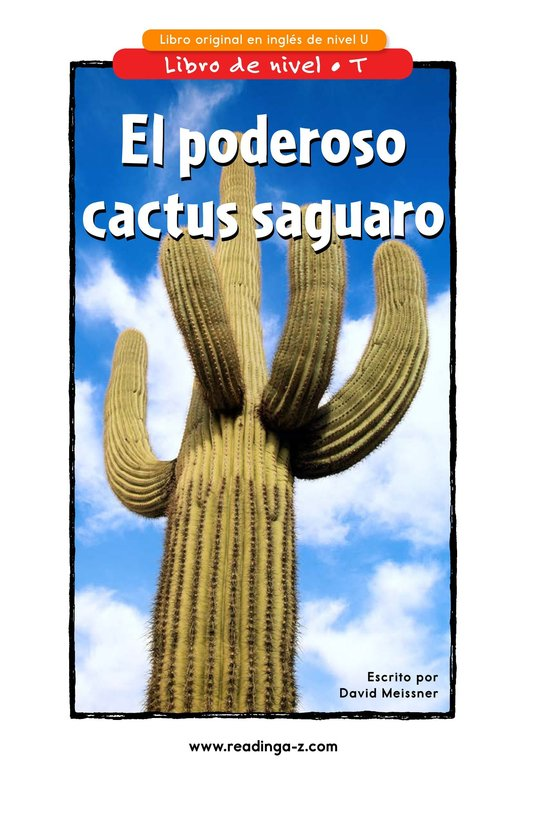 Book Preview For The Mighty Saguaro Cactus Page 1