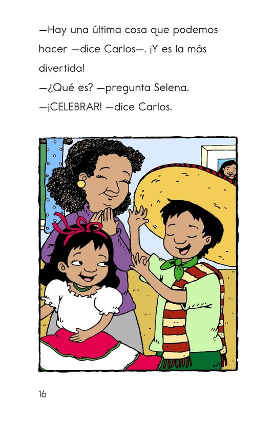 Book Preview For Carlos's Family Celebration Page 16