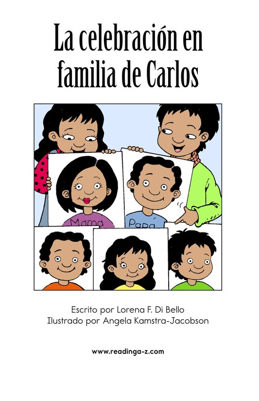 Book Preview For Carlos's Family Celebration Page 2