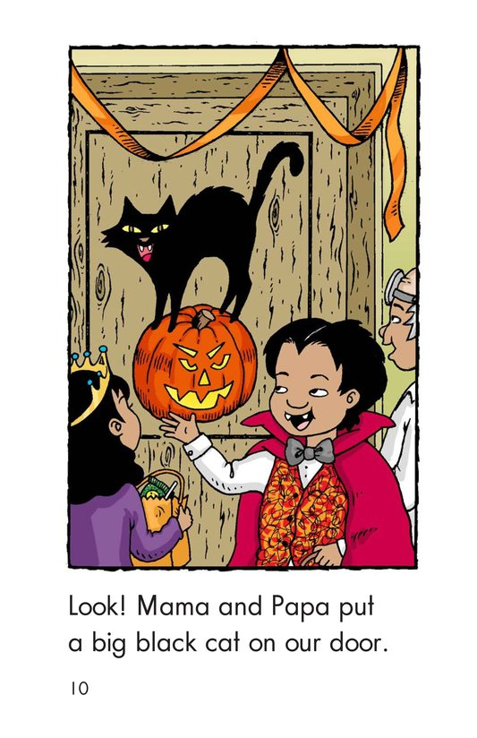 Book Preview For Carlos's First Halloween Page 10