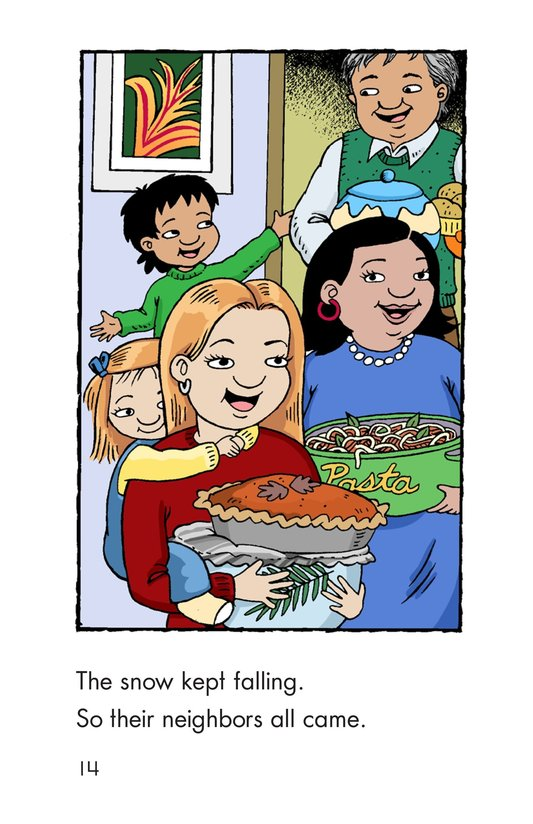 Book Preview For Carlos's First Thanksgiving Page 14