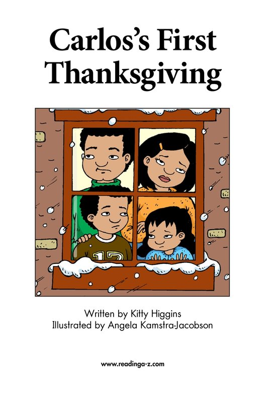 Book Preview For Carlos's First Thanksgiving Page 2