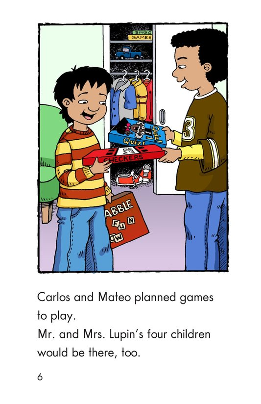 Book Preview For Carlos's First Thanksgiving Page 6