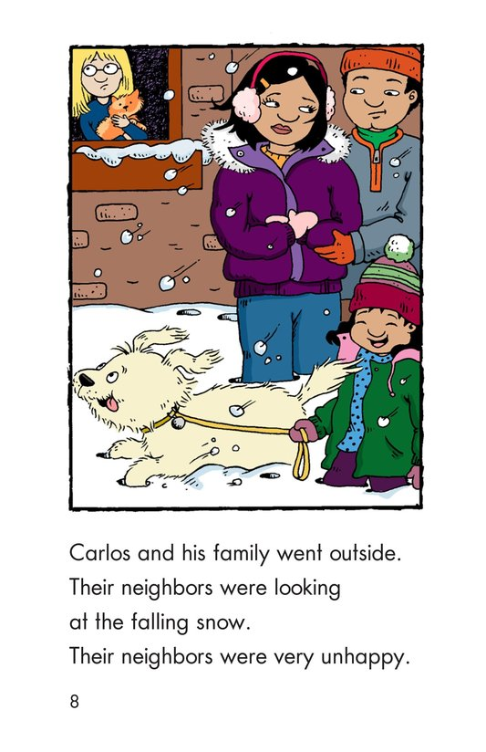 Book Preview For Carlos's First Thanksgiving Page 8
