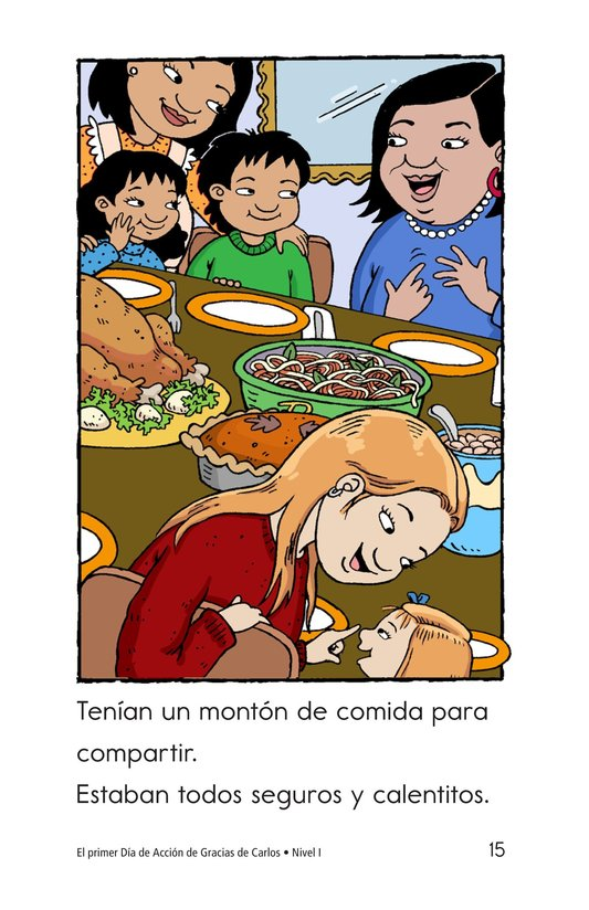 Book Preview For Carlos's First Thanksgiving Page 15