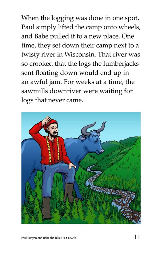 Book Preview For Paul Bunyan and Babe the Blue Ox Page 11
