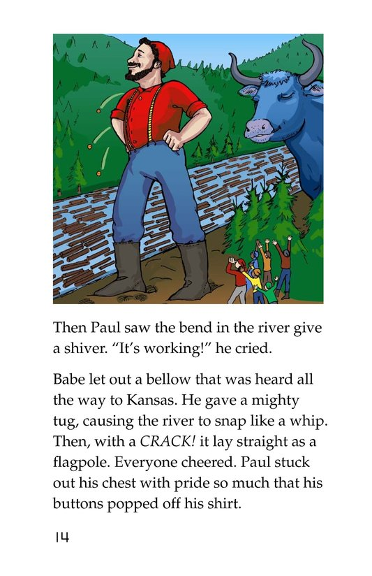 Book Preview For Paul Bunyan and Babe the Blue Ox Page 14