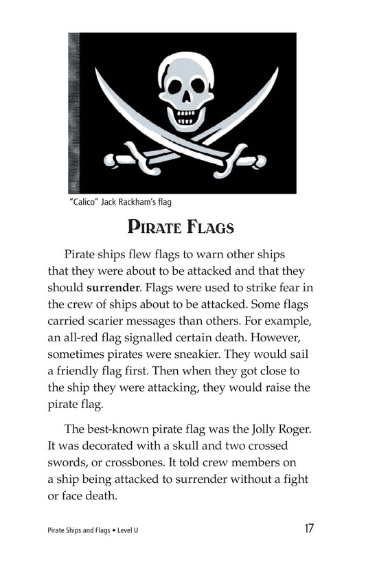 Book Preview For Pirate Ships and Flags Page 17
