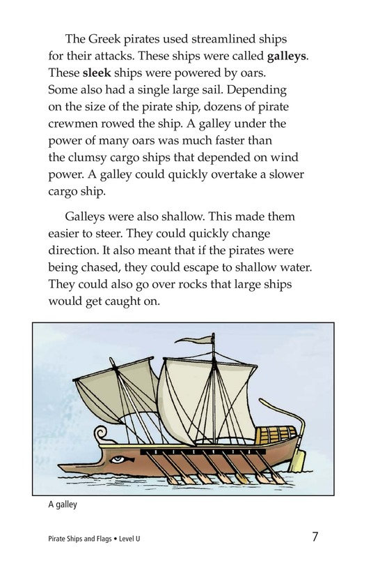 Book Preview For Pirate Ships and Flags Page 7