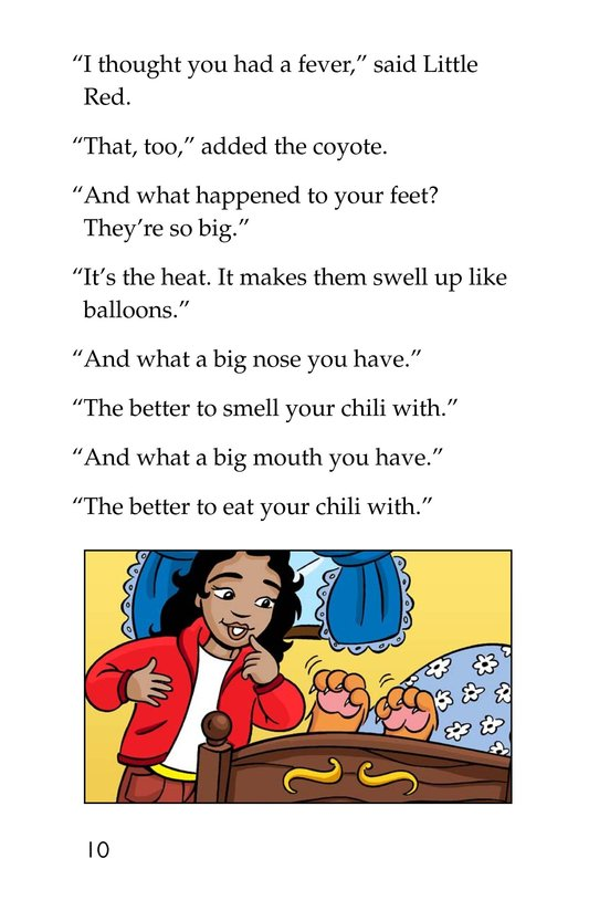 Book Preview For Little Red's Secret Sauce Page 10