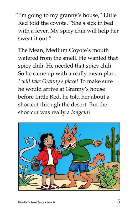 Book Preview For Little Red's Secret Sauce Page 5