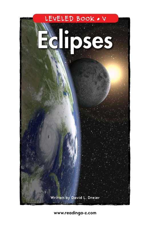 Book Preview For Eclipses Page 1