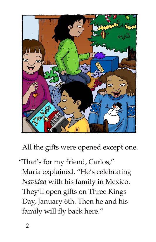 Book Preview For Maria's Family Christmas Page 12