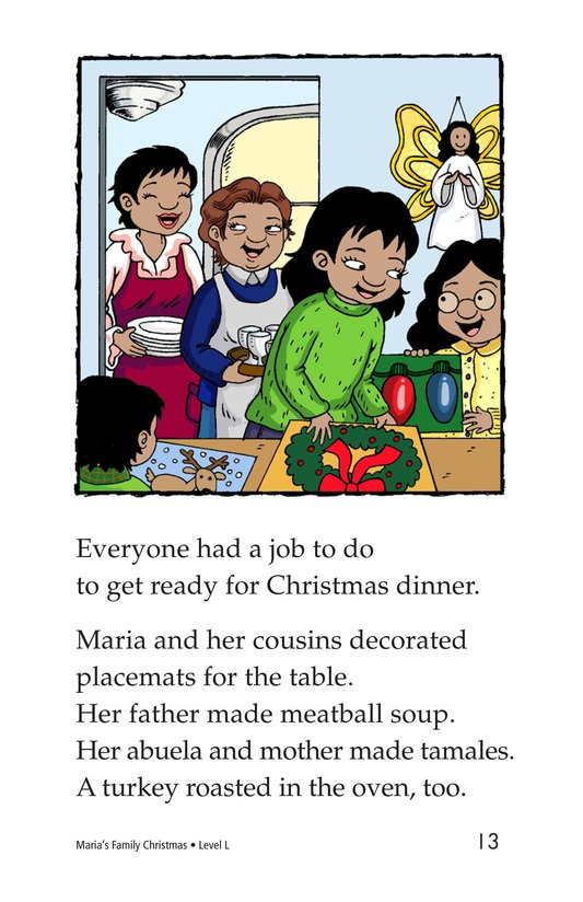 Book Preview For Maria's Family Christmas Page 13