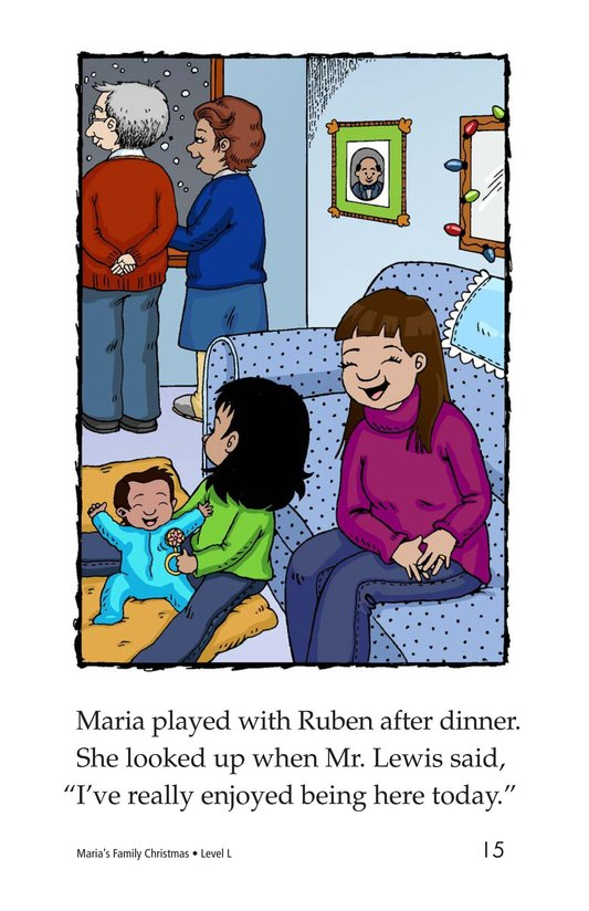 Book Preview For Maria's Family Christmas Page 15