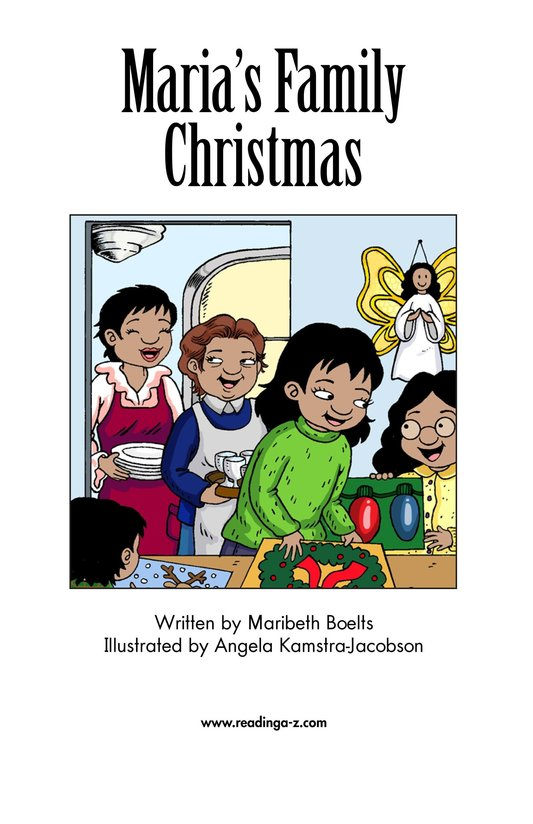 Book Preview For Maria's Family Christmas Page 2