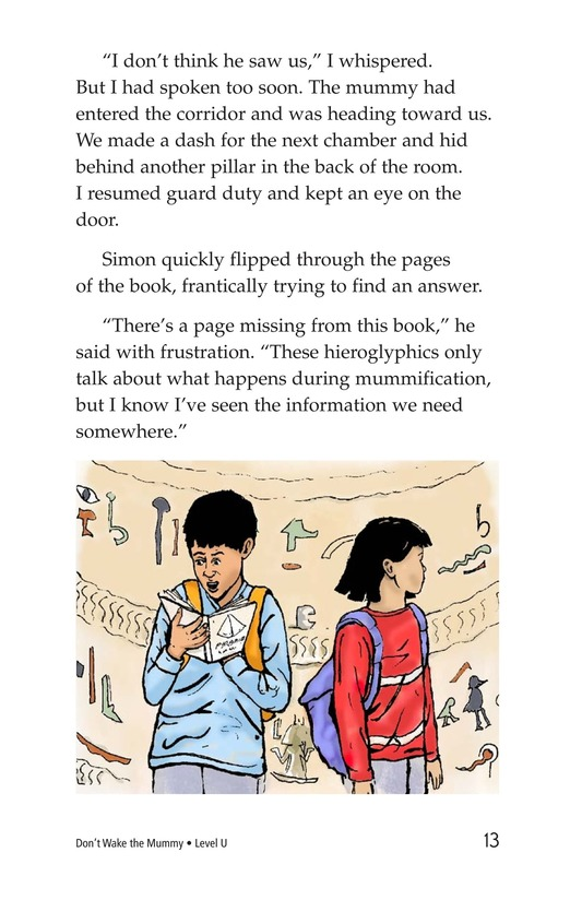 Book Preview For Don't Wake the Mummy Page 13