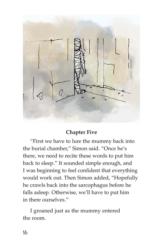 Book Preview For Don't Wake the Mummy Page 16