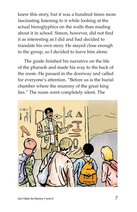 Book Preview For Don't Wake the Mummy Page 7