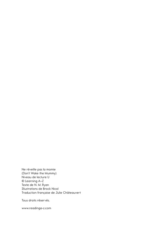 Book Preview For Don't Wake the Mummy Page 21