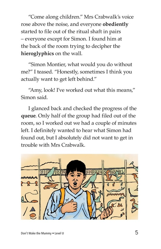 Book Preview For Don't Wake the Mummy Page 5