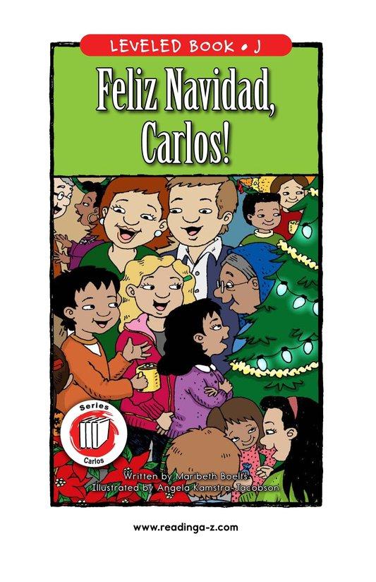 Book Preview For Feliz Navidad, Carlos! Page 1