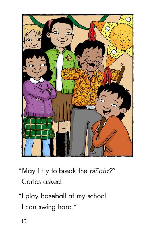 Book Preview For Feliz Navidad, Carlos! Page 10