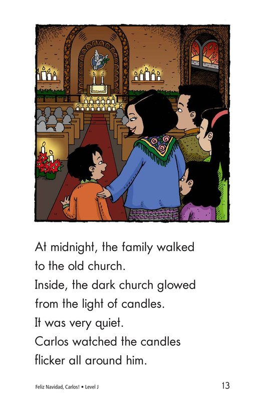 Book Preview For Feliz Navidad, Carlos! Page 13