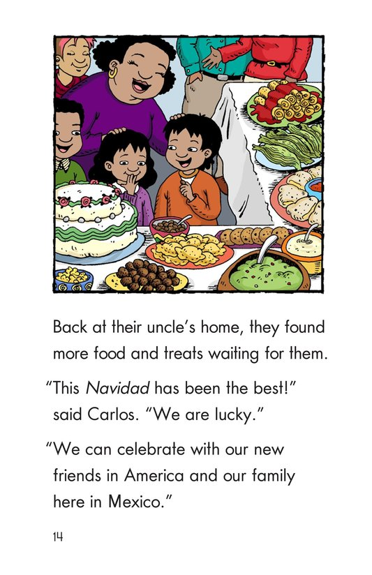 Book Preview For Feliz Navidad, Carlos! Page 14