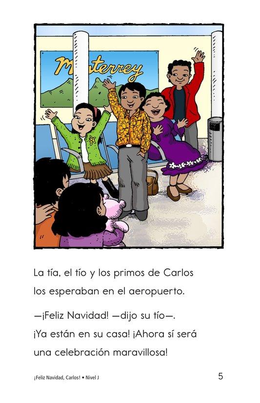 Book Preview For Feliz Navidad, Carlos! Page 5