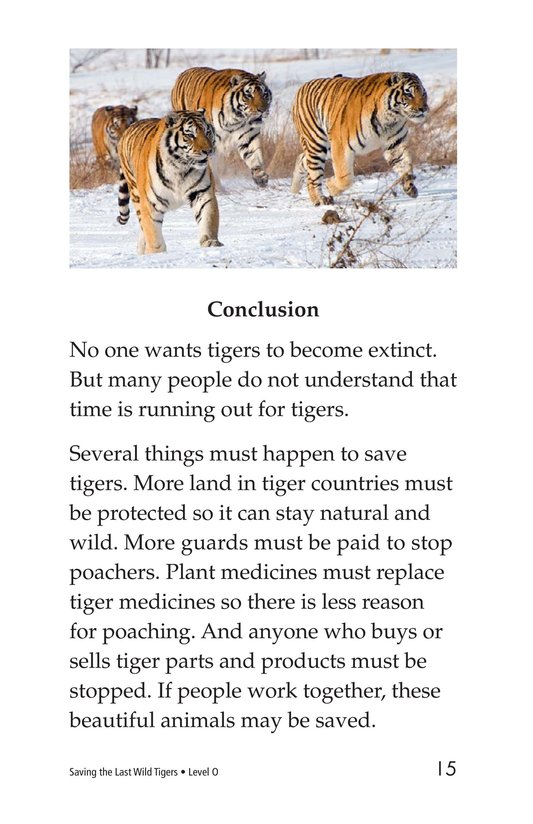 Book Preview For Saving the Last Wild Tigers Page 15