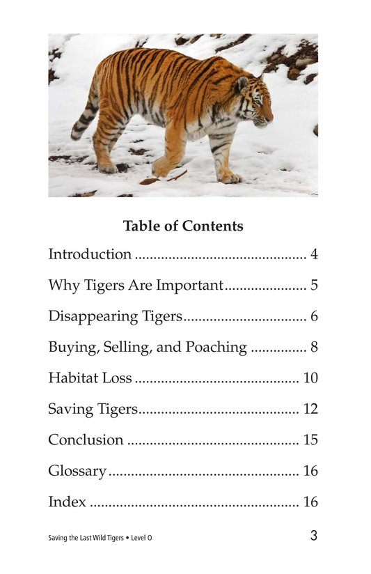 Book Preview For Saving the Last Wild Tigers Page 3