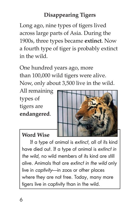 Book Preview For Saving the Last Wild Tigers Page 6