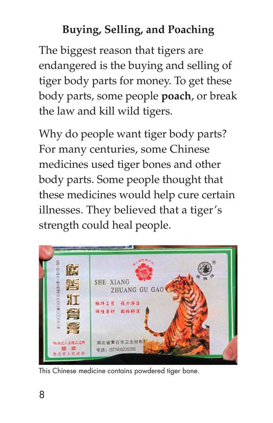 Book Preview For Saving the Last Wild Tigers Page 8