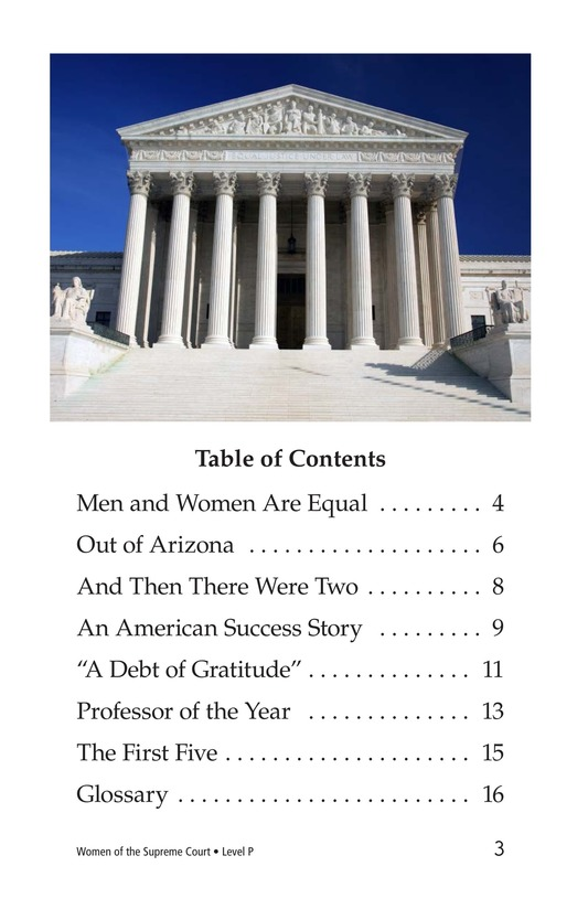 Book Preview For Women of the Supreme Court Page 3