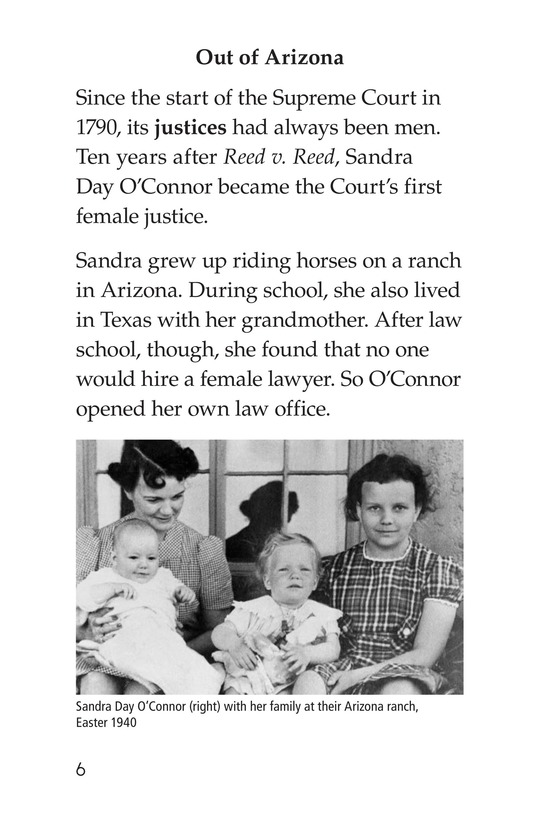 Book Preview For Women of the Supreme Court Page 6